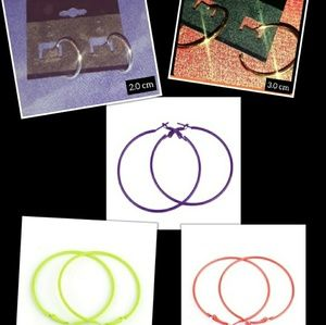 Jewelry - Hoop Earring Bundle